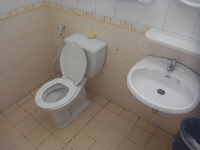 Toilet from Awana Guest House